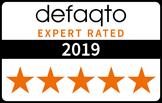 Defaqto logo 5 stars 2019