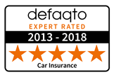 5 Star rated Car cover as awarded by industry experts Defaqto.