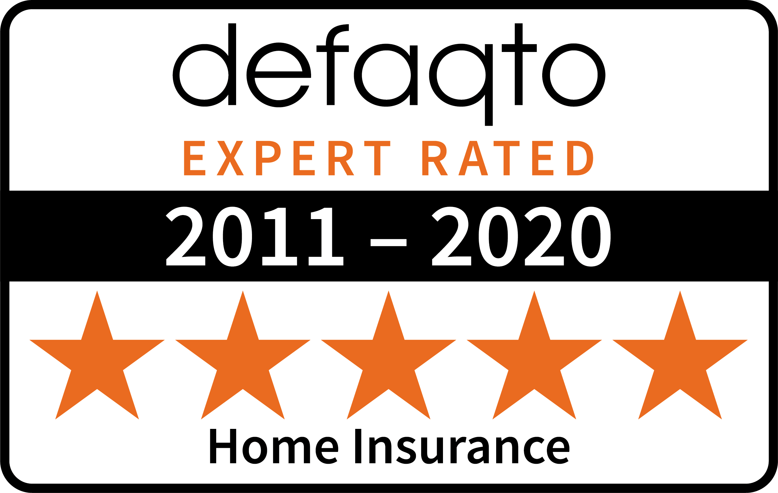 defaqto home insurance 2011-2020