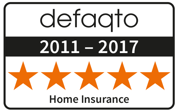 Rias home insurance defaqto award