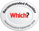 Which? Home Insurance recommended provider logo