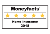 Moneyfacts Home insurance 5 star 2018 logo