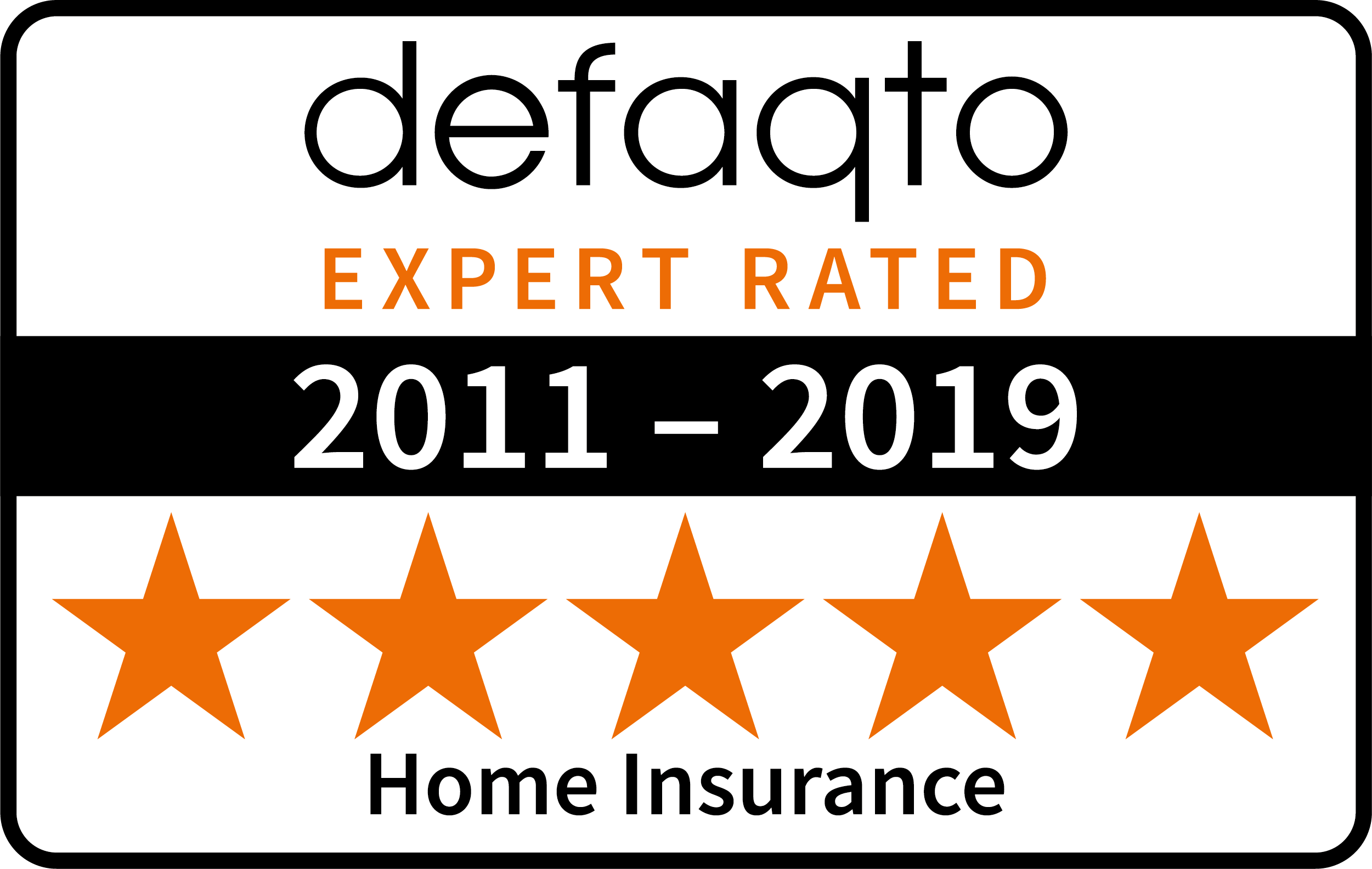 defaqto home insurance 2011-2019