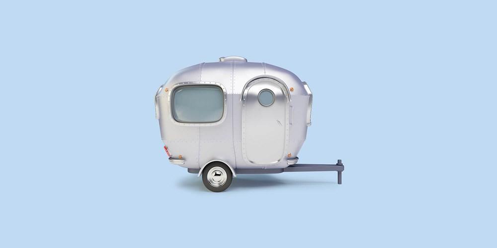 Silver caravan