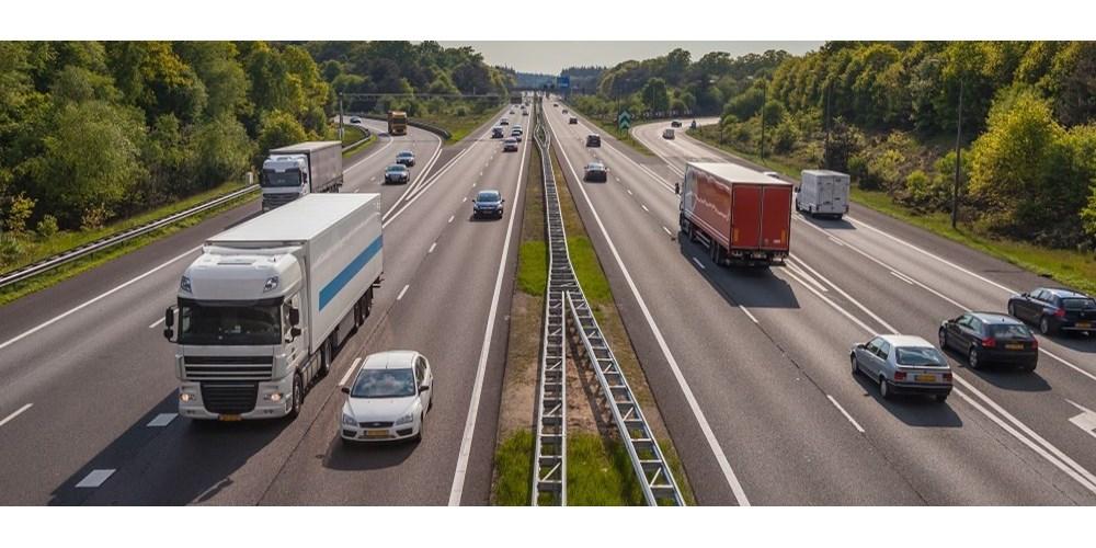 Motorway traffic in Europe