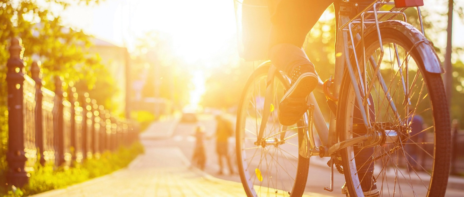 Bicycle in the sunshine