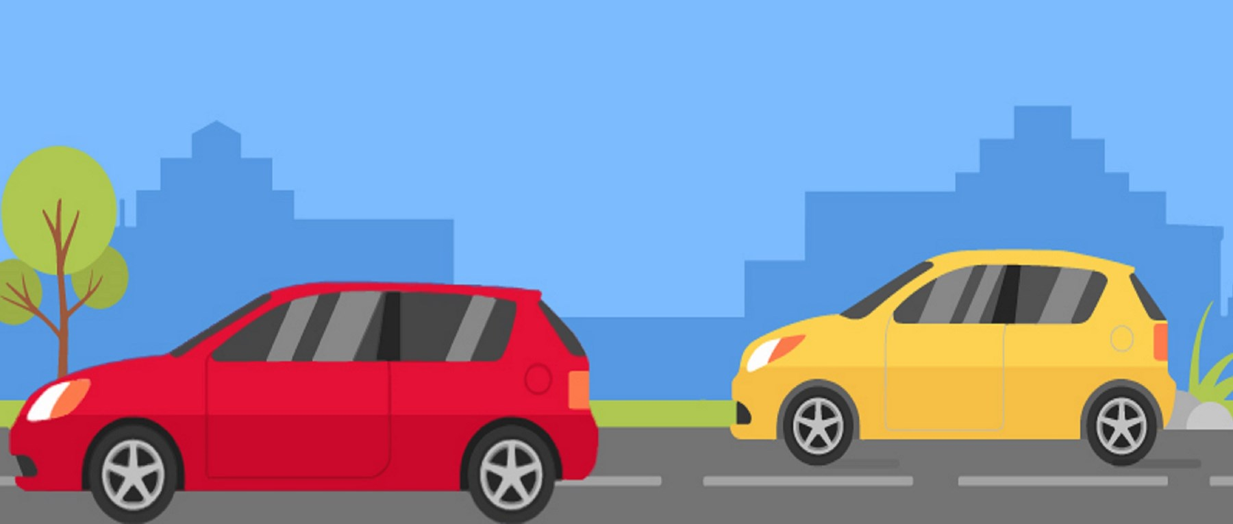 Car insurance illustration