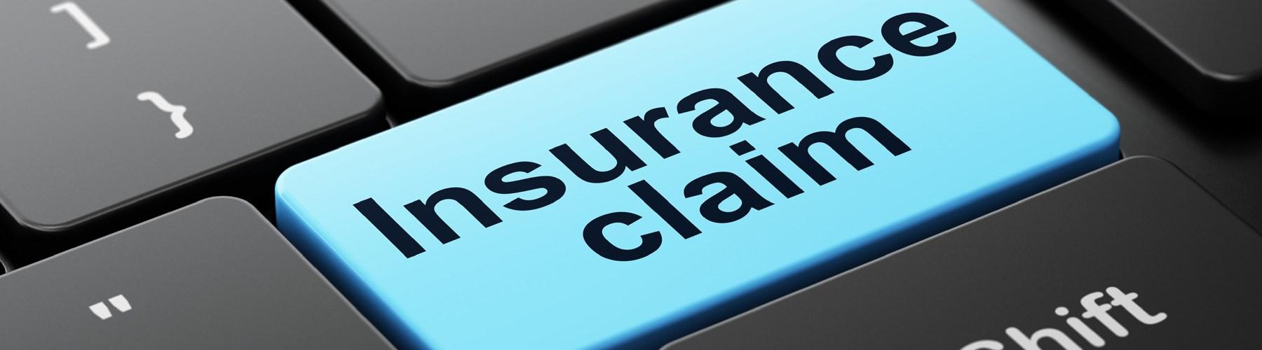 Insurance claim computer key
